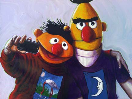 Ernie and Bert from Sesame Street