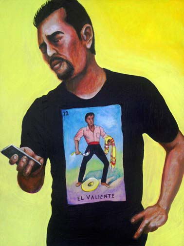 image number 12 from the Mexican Loteria: el valiente - the brave one
